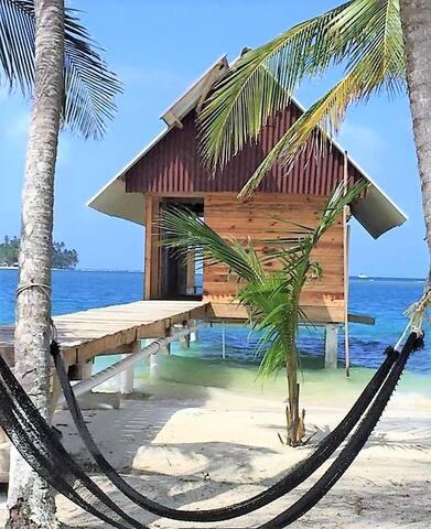Isla Wailidup, San Blas - Panama, private cabin