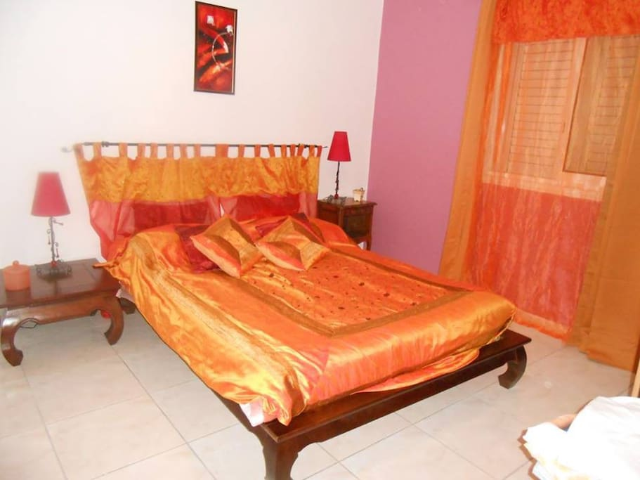 Chambre indienne guesthouse for rent in la plaine des for Chambre indienne