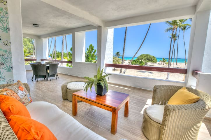 Oceanfront 3 Bedroom Apartment B201 - Punta Cana - Departamento