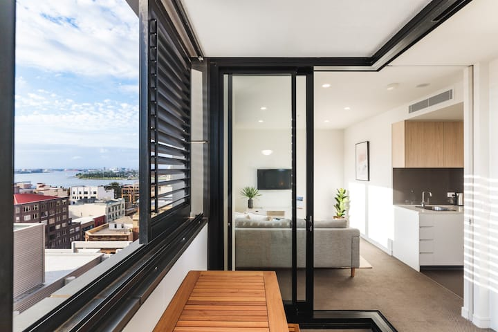 """The Echo"" Boutique Apartment in East Newcastle"