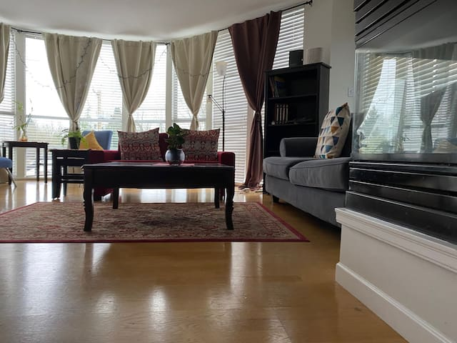 Gorgeous Spacious Pvt. Room & balcny nr Kitsilano
