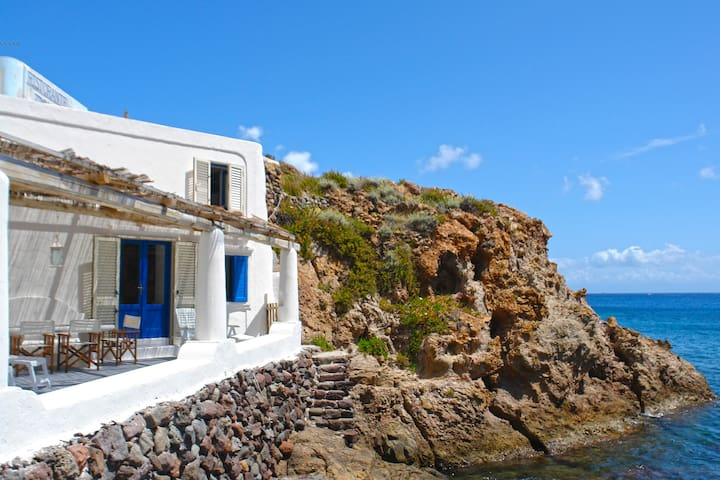 Unparalleled Seafront Location in Panarea - Panarea - House