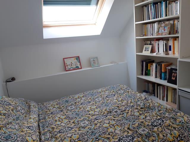 Chambre privée dans maison au calme à Angers