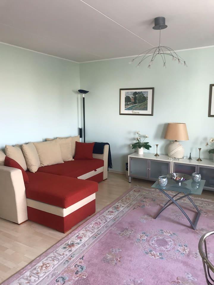Mukava huoneisto Eestin Kesäkaupungissa