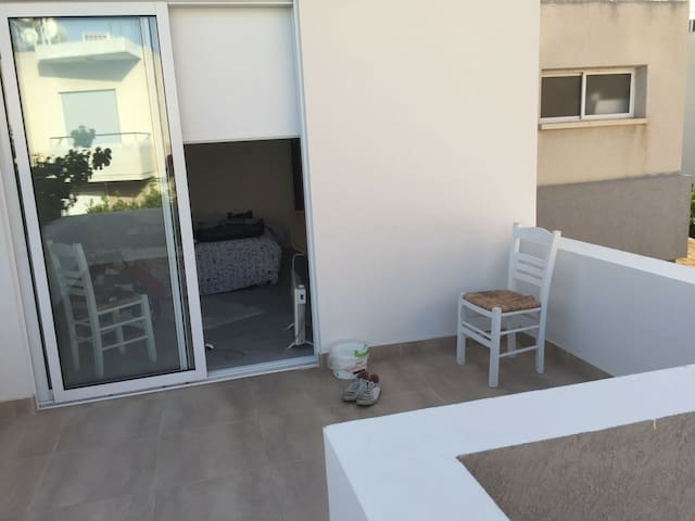 Private room with big balcony - Limassol