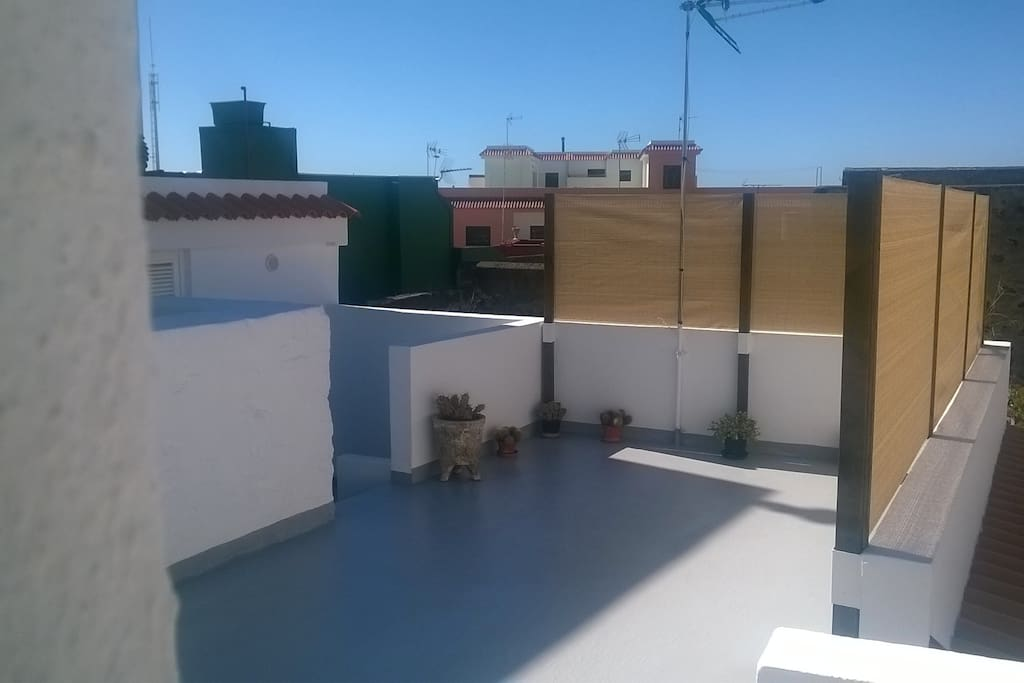 terraza y cuarto lavar