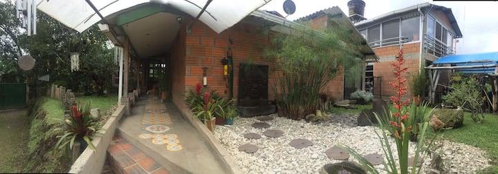 House El refugio at Eje cafetero