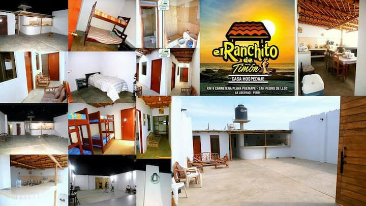 "Casa de playa ""Ranchito de Timon"""