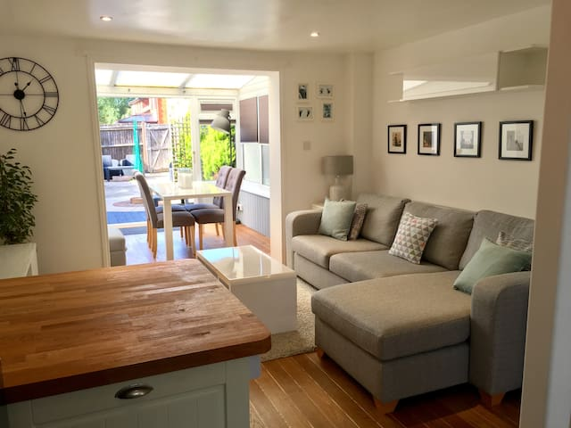 2 bed semi by the sea, with 2 parking spaces