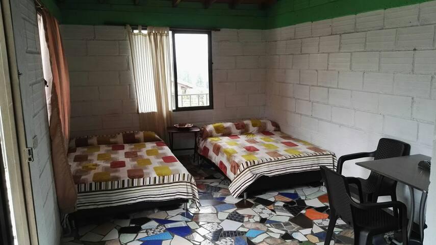 Apartaestudio Campestre en Santa Elena - B302 - Medellín - Apartment