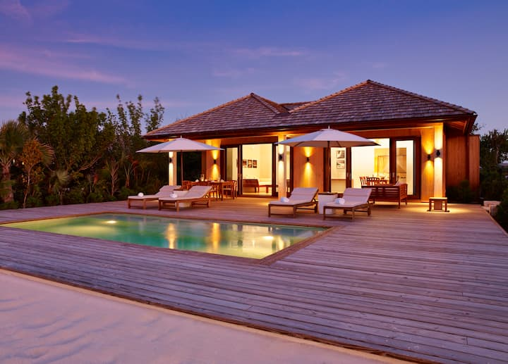 Two Bedroom Beach House at COMO Parrot Cay