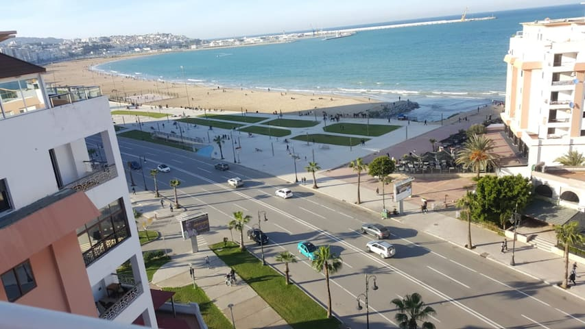 Beachfront Penthouse Apartment Tangier
