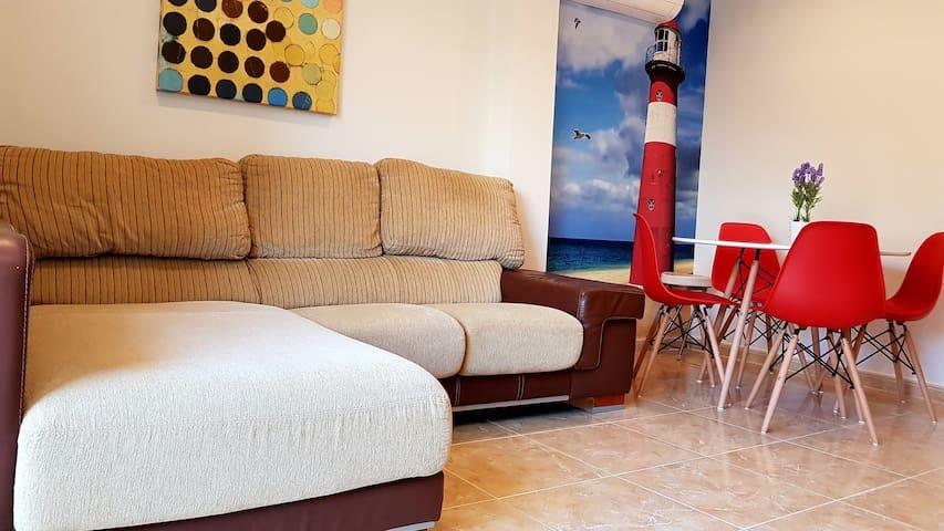 Salón-livingroom
