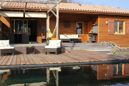 Villa de charme -piscine chauffée, jardin, wifi- - Grayan-et-l'Hôpital