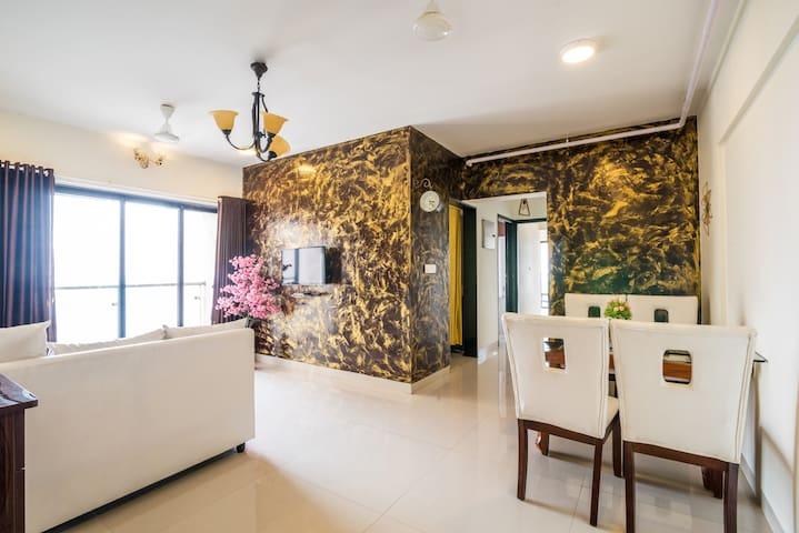 Newly Bask Apartment Near Mumbai Airport