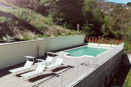 Lake view apartment, a dip in the relaxation - Argegno - 公寓