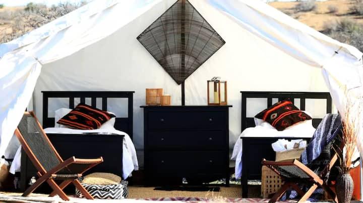 Safari Glamping: Waypoint Outposts -Meerkat Tent