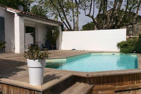Villa de plein pied 110m2 charmante - Velleron - Villa