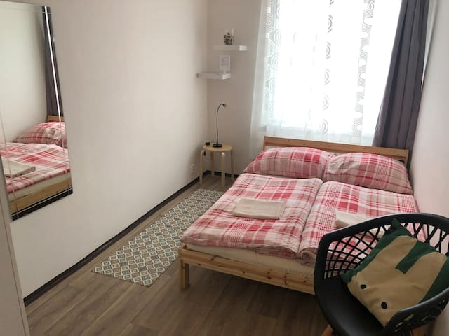 Private&new room for 2 by Wenceslas sq.