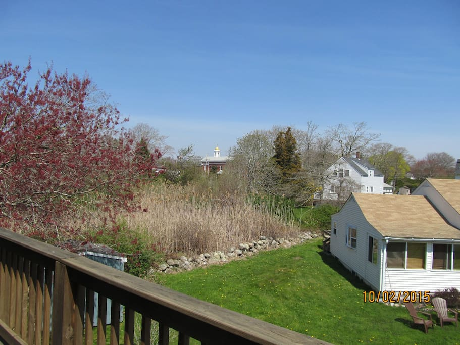 View from 2nd story deck off both bedrooms.