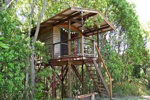 Treehouse with views, Byron Shire