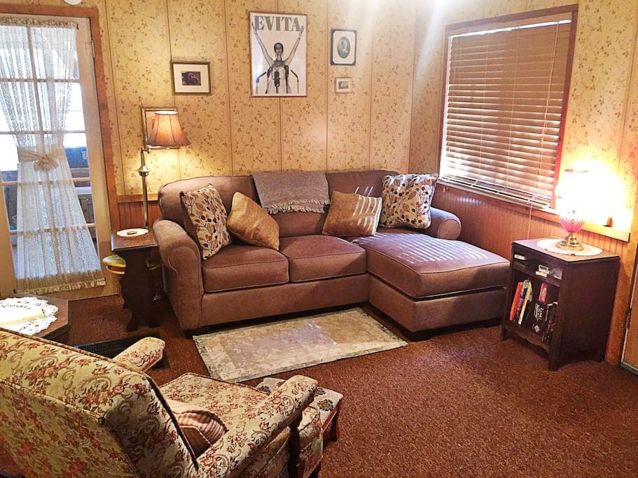 Your very comfortable living room!