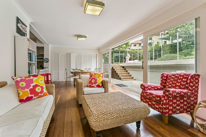 Summery, spacious 4 bed home in Kurraba Point