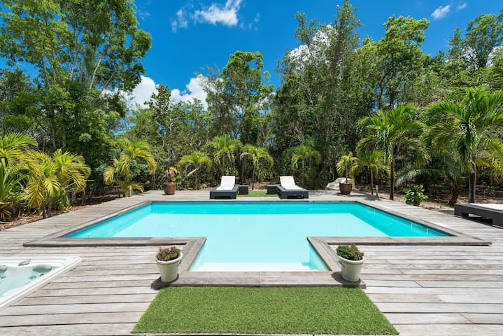 Monchal - Ideal for Couples and Families, Beautiful Pool and Beach - Terres Basses - Villa