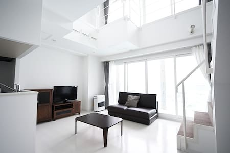 (0588)Stylish apartment 5min by car from Otaru Sta - 小樽 - 公寓