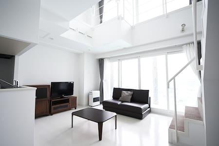 (0588)Stylish apartment 5min by car from Otaru Sta - Otaru - Apartamento