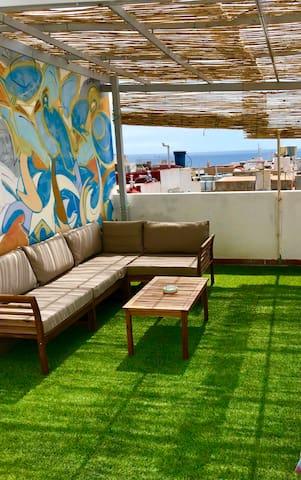 Apartamento con terraza privada a 5' del AirPort