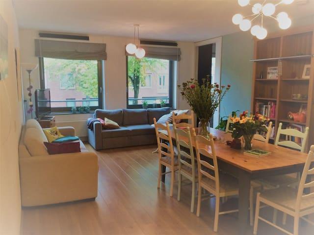 Ruim  en centraal gelegen appartement (1-4pers)