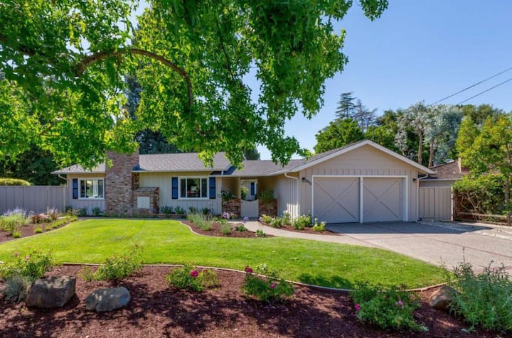Los Altos -3 rooms & 2 baths 硅谷湾区富人区独栋内三房间两浴靠斯坦福谷歌