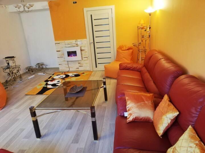 Rusne apartment
