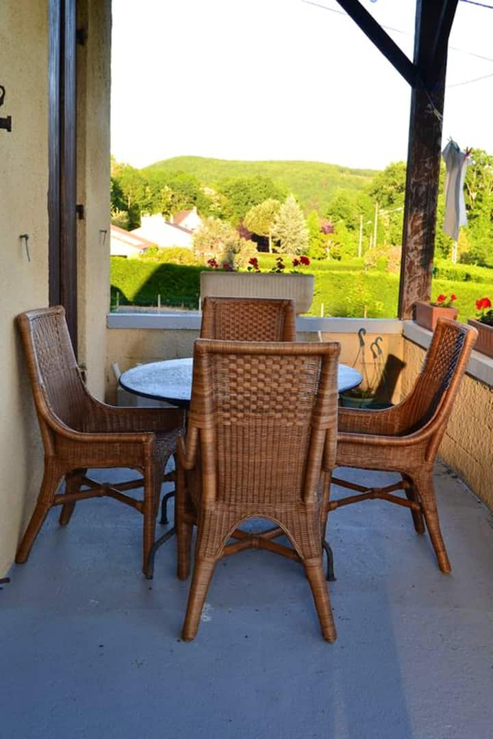 Apartment with 2 bedrooms in Le Bugue, with private pool, furnished garden and WiFi - 10 km from the beach