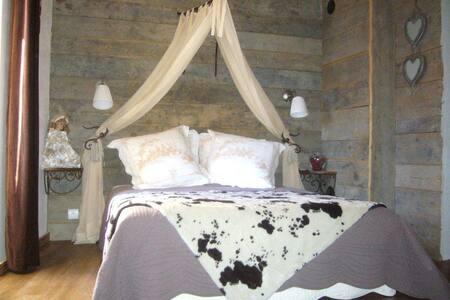 Chambre d'hôtes Romance, face aux Arcs La Plagne - Bellentre - Bed & Breakfast