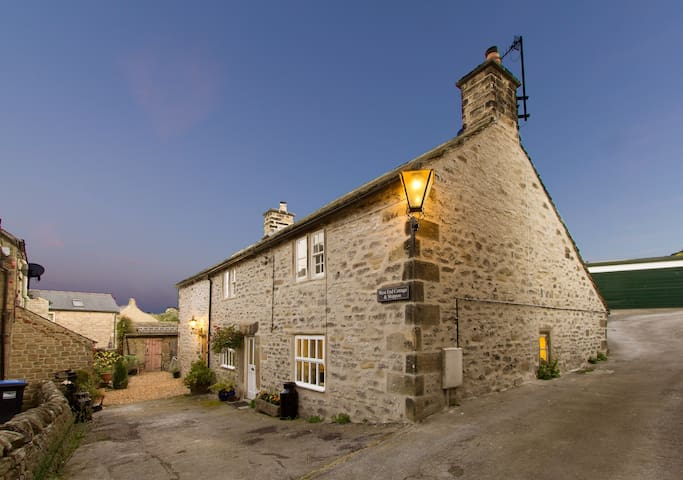 West end cottage and Shippon, Eyam,Peak District .