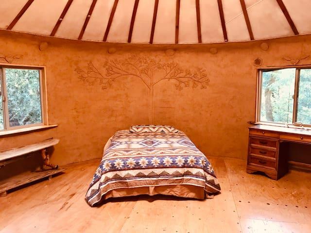 Earthen Yurt