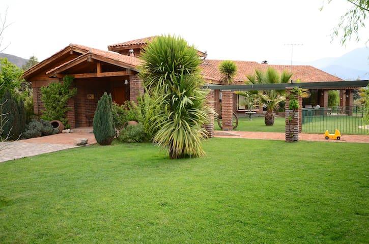 Casa de campo para disfrutar - Rinconada de Silva - House