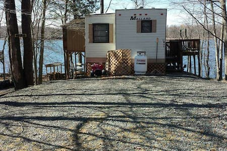 LAKEFRONT 2brm trailer @ Eagle Lake - Gouldsboro - Chatka