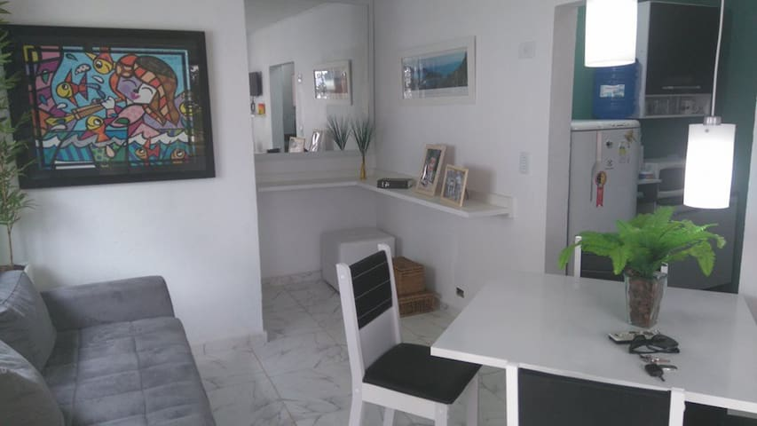 Apartamento na praia das Toninhas em Ubatuba - SP