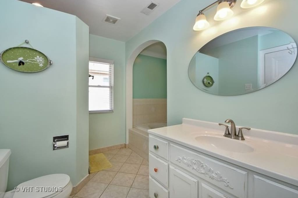Bathroom, with Garden Tub and Shower
