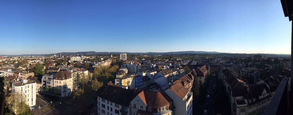 central apartment in Basel with great view - Basel - Leilighet