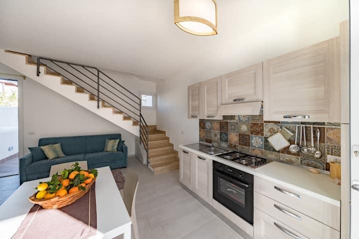 I Tre Golfi Blu Mare Bilo Plus Apartment with veranda and pool