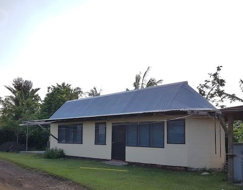 Cosey house in Savaii.