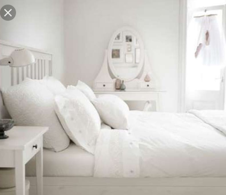 Two queen beds like these