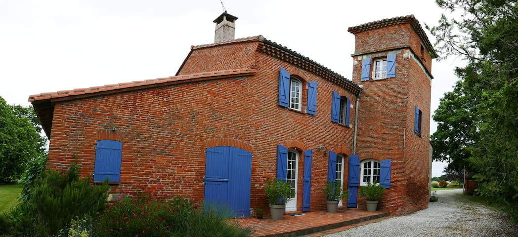 Ancien moulin à Pastel proche de Toulouse - Pin-Balma - House