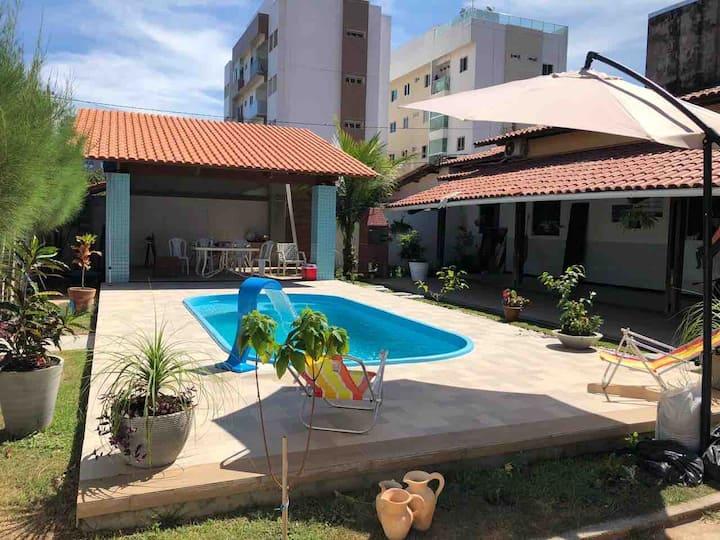 Casa MARAVILHOSA na praia de Intermares!!!