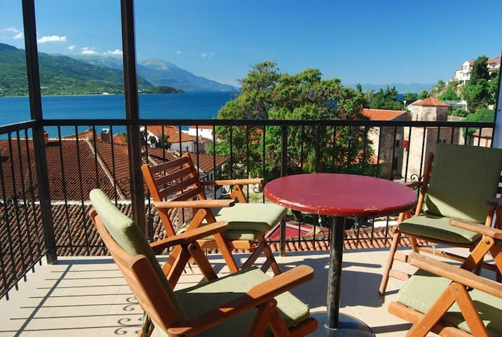 Apartments Lukanov - lake view - Ohrid - Apartamento
