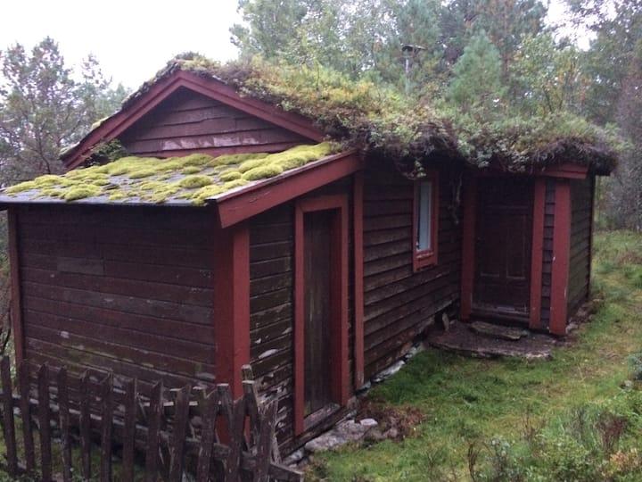Koselig enkel fjellhytte, Simple mountain cottage